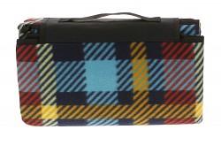 HI-TEC Piqnic Blanket - 130x150 - blue & red
