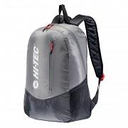Městský batoh HI-TEC Pinback 18 l - black/high red risk