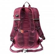 Městský batoh HI-TEC Pioneer 25 l - sangria/orangeade