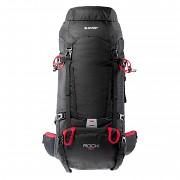 Turistický batoh HI-TEC Rock 50 l - black/high risk red