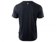 Pánské triko HI-TEC Plain - dark grey melange