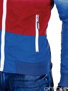 Pánská fashion bunda OMBRE Ralph - červená
