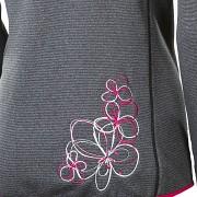 PROGRESS Rebeca - černý melír/růžová