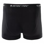 Pánské boxerky HI-TEC Riko 2Pack - černá - set 2 ks
