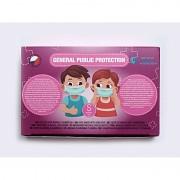 Rouška třívrstvá GENERAL PUBLIC PROTECTION dětská GPP - modrá - 25 ks
