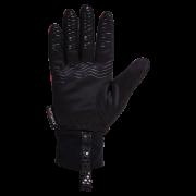 Softshellová rukavice KLIMATEX Diogo - černá/fuchsiová