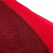 Pánské funkční triko KLIMATEX Navid - červená