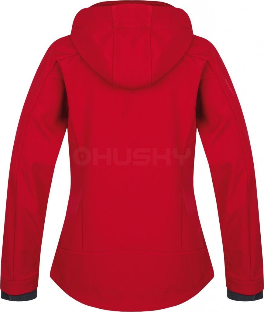 52960ea875e Dámská softshellová bunda HUSKY Salen L - tm. růžová - vel. S