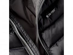 Pánská zimní bunda HI-TEC Salrin - black/dark grey