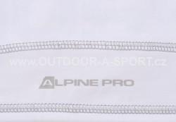 Unisex šátek ALPINE PRO Bear - bílá - detail potisku
