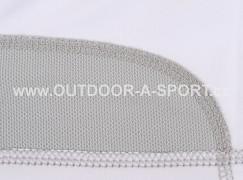 Unisex šátek ALPINE PRO Bear - bílá - materiál pro odvod potu z čela