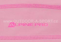Unisex šátek ALPINE PRO Bear - růžová - detail potisku