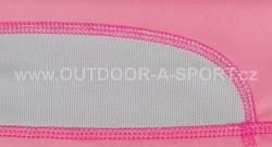 Unisex šátek ALPINE PRO Bear - růžová - materiál pro odvod potu z čela