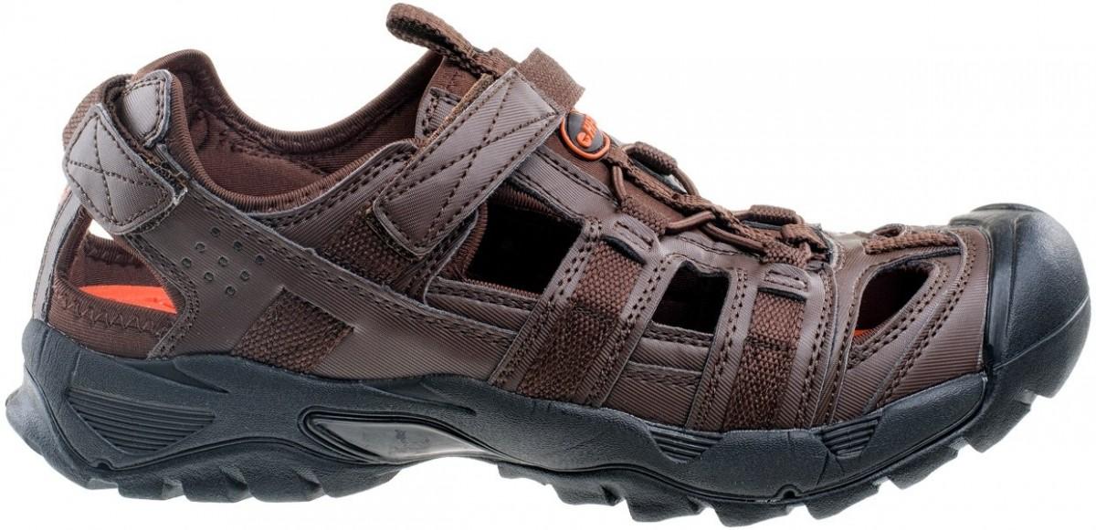 42 Tabulka velikostí Pánské outdoorové sandále HI-TEC Sativ -  brown black orange ... f179d76e96