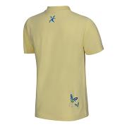Dívčí triko KLIMATEX Rose Freetime - žlutá