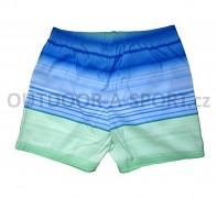 Pánské koupací šortky AQUAWAVE Shadow - modrá/zelená