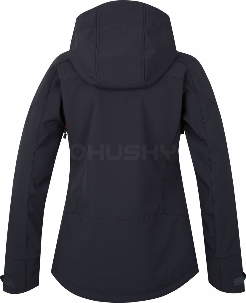 4e00fa10aa3 Dámská softshellová bunda HUSKY Sevan L - antracit - vel. S