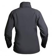 Dámská softshellová bunda RVC Tresa - zadní pohled - černé provedení