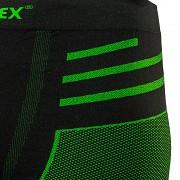 Pánské funkční spodky KLIMATEX Mardum - černá/zelená