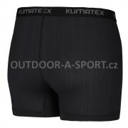 Pánské funkční boxerky KLIMATEX Bax - černá