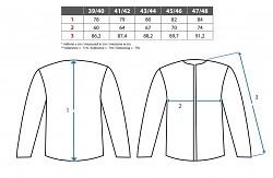 Pánská košile CXS Tom - modrá/černá