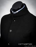 Pánský kabát OMBRE Victor - černá