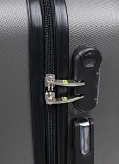 Cestovní kufr ELBRUS Anarak 65 - tm. šedá