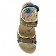 Dámské sandále HI-TEC Wayena Wo's - sand/smoke blue/pink