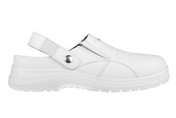 BENNON White OB Slipper