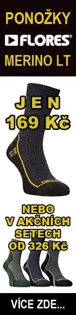 Ponožky FLORES Merino LT