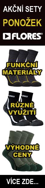 Akční sety ponožek FLORES
