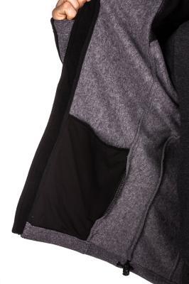 3499a72c850 Pánská fleecová mikina HI-TEC Monar - šedá černá - vel. M