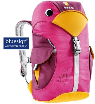 4c28083187 Dětský batoh DEUTER Kikki 6 l - magenta blackberry