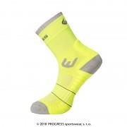 PROGRESS Walking Sox - reflexní žlutá/šedá