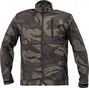 ČERVA CRV Crambe Softshell - camouflage - vel. 3XL