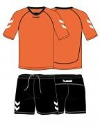 HUMMEL Team Spirit 06-167 - oranžová - vel. XL
