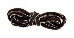 FLORES Lace Stripe - hnědá - 75 cm