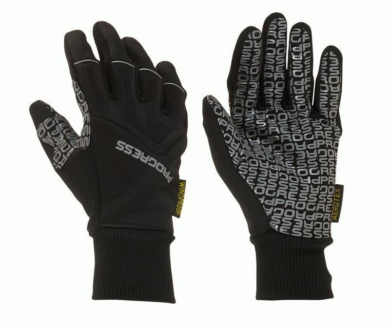 707f6f7c5e3 Cyklo rukavice PROGRESS Freeride Gloves - černá bílá oranžová - vel ...