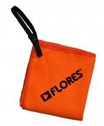 FLORES Trip Towel L - oranžová (60 x 110 cm)