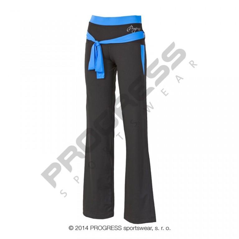 e6938c03791 Dámské sportovní kalhoty PROGRESS Viktorie - černá modrá - vel. S ...
