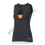 PROGRESS Tora - černá/oranžová - vel. S