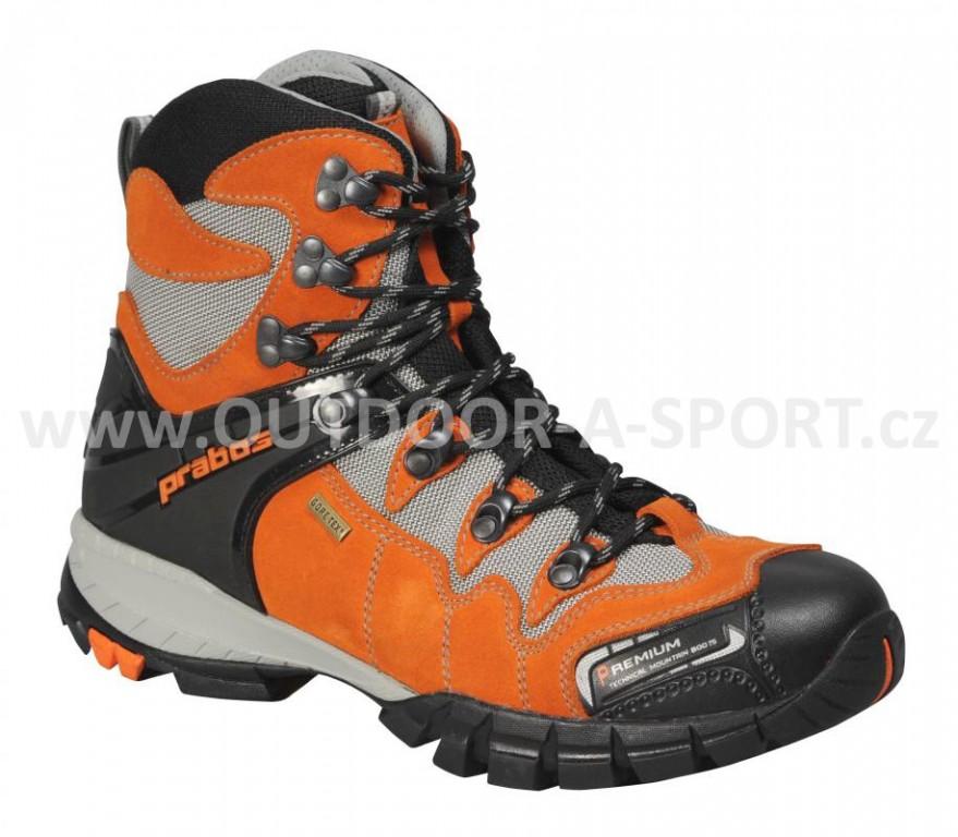 Outdoorová obuv PRABOS Kangri GTX S10419 - oranžová - vel. 36 ... 010e203e4ee