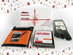 Vánoční set FLORES Travel - oranžová
