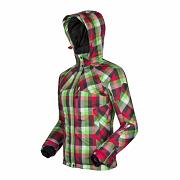 HUSKY Gauny - růžová/zelená kostka - vel. XL