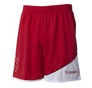HUMMEL GrassRoots trenýrky - červená - vel. XL
