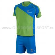 KLIMATEX Benoc - zelená s modrou - vel. 110