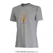 PROGRESS Barbar - šedý melír - strom - vel. XXL