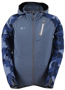 2117 OF SWEDEN Gran Eco mens 2nd layer jacket w hood - navy