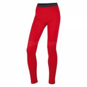 HUSKY Merino 100 Kalhoty L - červená