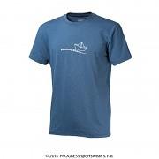 PROGRESS Barbar - modrý melír - lodička - vel. L